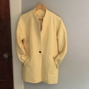 Jackets & Blazers - Light Yellow Women's Jacket